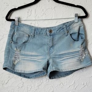 4/$30 Seductions Distressed Shorts